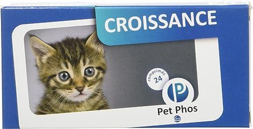 Pet-Phos félin croissance 24 comprimés