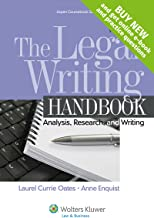 The Legal Writing Handbook: Analysis Research and Writing [Connected Casebook] (Aspen Coursebook)