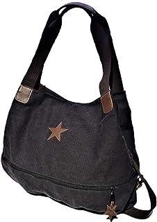 Brakumi Vintage Tasche, große Kapazität, im Outlet, wirtschaftlich, Arbeit, Reisen, Mädchen, Einkaufen, in weichem Stoff....