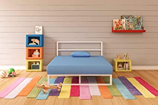 Ashley Furniture Signature Design - iKidz Children's Mattress and Pillow Set - Kids Bed in a Box - Full - Blue