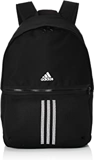 adidas Unisex's Classic Bp 3S Black/White Backpack, NS