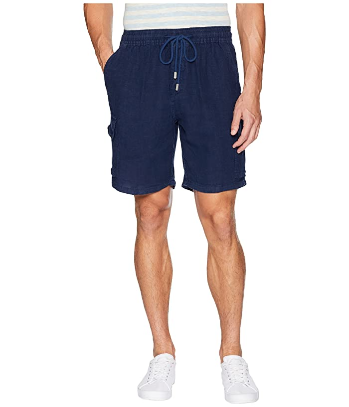 Vilebrequin Drawstring Pocket Shorts (Navy) Men