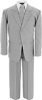 Gino Giovanni Boys Formal Silver Dresswear Set