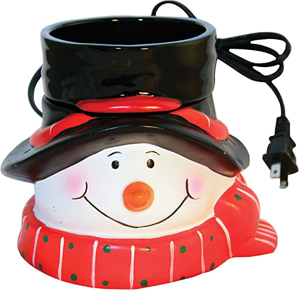 A Cheerful Giver Snowman Wax And Oil Warmer