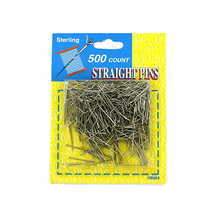 STERLING Kole Imports HB063 Straight Pins Value Pack
