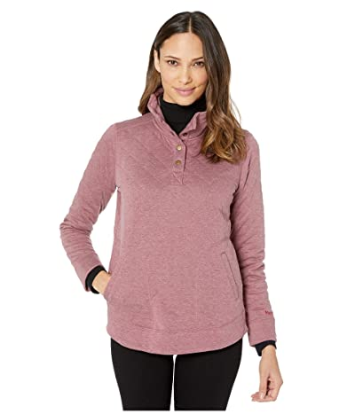 Marmot Roice Long Sleeve Pullover (Dry Rose Heather) Women