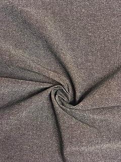 Scandinavian Beige Brown Owl Cotton Fabric Scandi Craft Fabric Nordic Linen