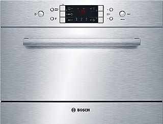 Bosch SKE52M65EU Semi-incorporado 6places A+ Acero inoxidable lavavajilla - Lavavajillas (Semi-incorporado, Acero inoxidable, Tocar, 47 Db, A, 24h)