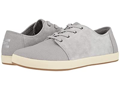 TOMS Payton (Drizzle Grey Textured Twill/Pig Suede Mix) Men