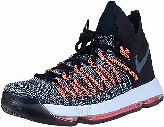 Zoom KD 9 Elite Black Grey White Durant Final Basketball Sneaker 878637 010