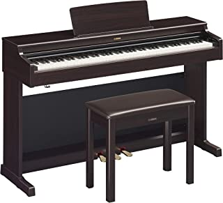 Yamaha YDP164R Arius Series Digital Console Piano with Bench, Rosewood