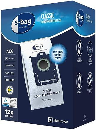 Electrolux - e201sm - Lot de 12 Sacs aspirateur Mega Pack s-Bag Classic Long Performance