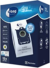 Electrolux - e201sm - Lot de 12 Sacs aspirateur Mega Pack s-Bag Classic Long Performance