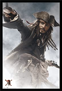 "Trends International Disney Caribbean: at World's End Pirates of The Carribbean 3 Jack Sparrow, 22.375"" x 34"""