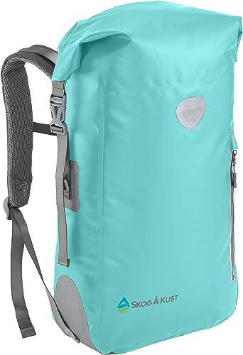 Skog Å Kust BackSåk Waterproof Floating Backpack with Exterior Zippered Pocket | for Kayaking, Rafting, Boating, Swim...