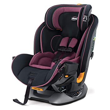 Chicco Fit4 4-in-1 Convertible Car Seat   Easiest All-in-One from Infant to Booster   10 Years of Use - Carina: image