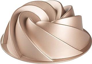 Erreke - Moule à Gâteau, Qualité Professionnelle, Très Résistant, Double Couche Antiadhésive, Moule à Kouglof 24 cm, Spirale