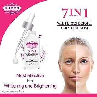 7in1 Tranexamic Acid Whitening and Brightening Super Serum-Tranexamic Acid, Alpha arbutin, Glutathione, Hyaluronic Acid Vitamin C-Dark Spots, Hyper-pigmentation, Melasma Sun Damage(1 Bottle)