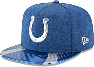 New Era NFL Indianapolis Colts 2017 Draft On Stage 9Fifty Snapback Cap, One Size, Blue