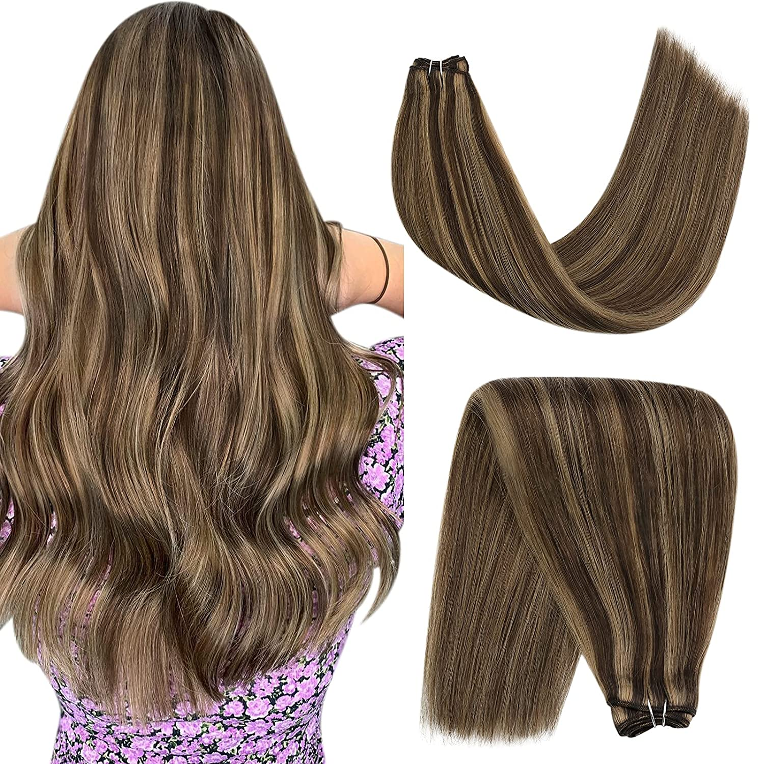 YoungSee Weft Hair Extensions Human Free shipping / New 14inch Sew Exte in Max 74% OFF