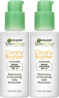 Garnier SkinActive SPF 15 Face Moisturizer with Vitamin C, 2.5 Ounce (Pack of 2)