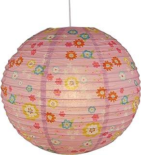 Niermann Standby - Lámpara de colgar en forma de balón, papel, Bungee Bunny, 40 x 40 x 40 cm