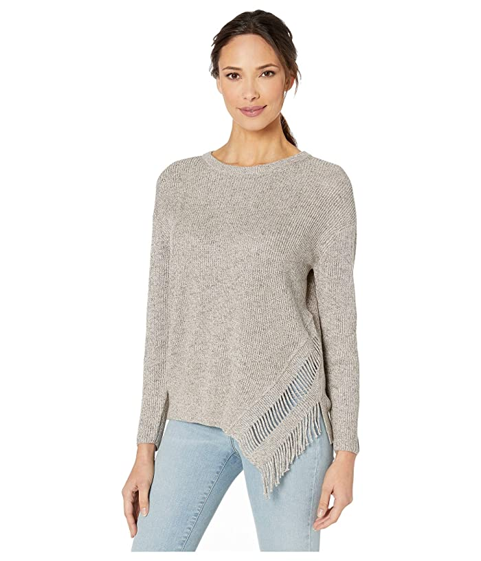 NIC+ZOE  Fringe Times Top (Neutral Mix) Womens Sweater