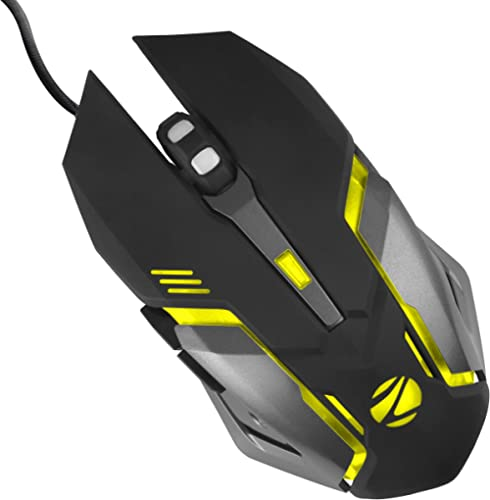 Zebronics Zeb-Transformer-M Optical USB Gaming Mouse with LED Effect(Black)