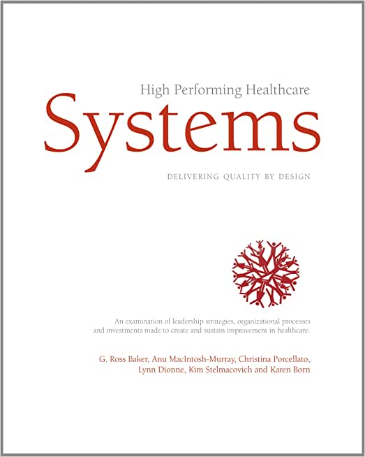High Performing Healthcare Systems (English Edition)
