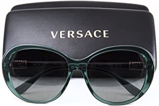 f9478edbb4 Versace Women s VE4324B Sunglasses Transparent Green Grey Gradient 57mm