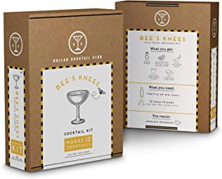 Bees Knees Cocktail Kit (makes 12 cocktails, alcohol not included)