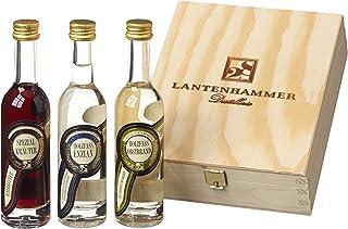 """Lantenhammer Holzschatulle """"Mini-Spezialitäten"""" 3 x 0.05 l"""