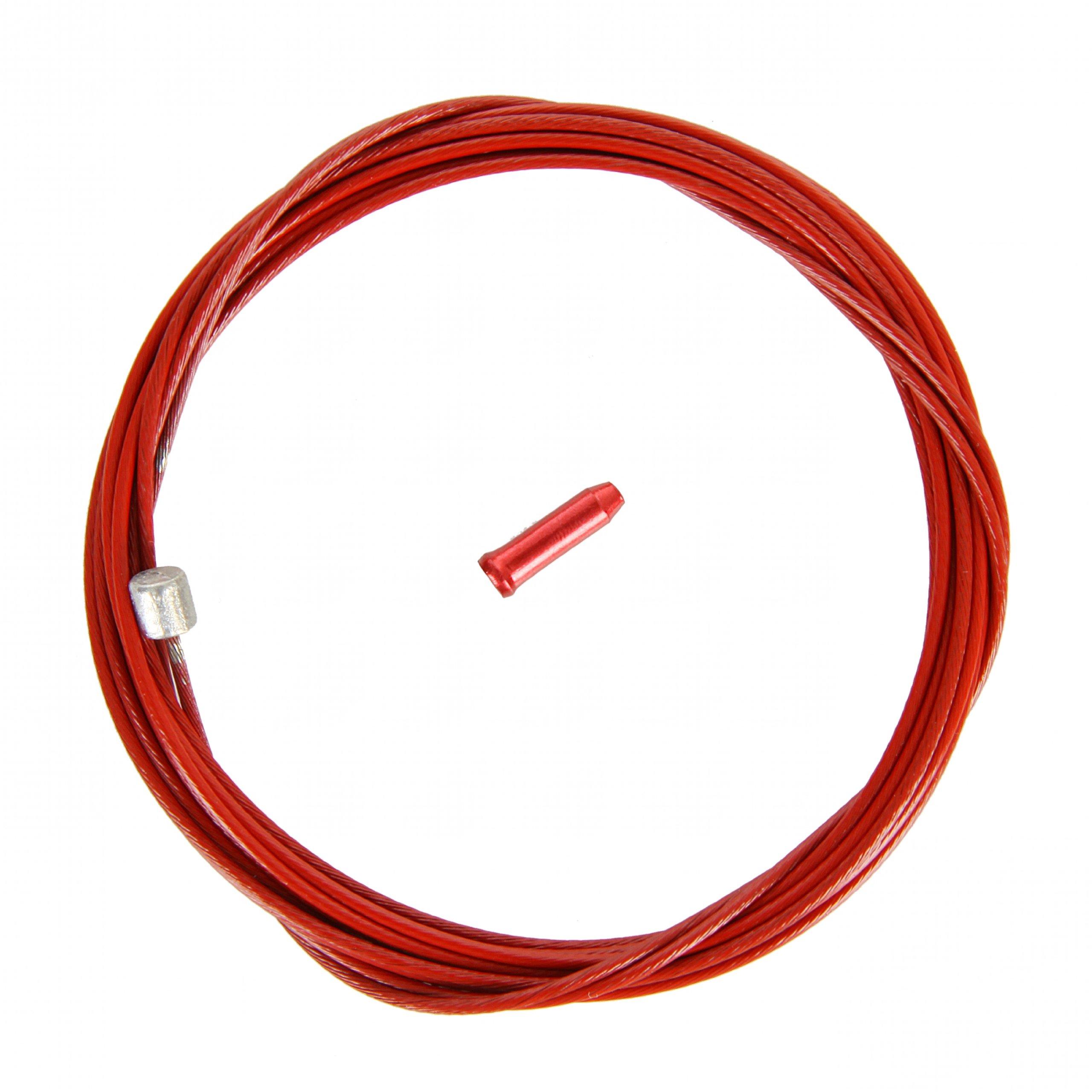 KCNC Road/MTB Shift Cable 2.1 m rojo Cable de cambio de bicicleta ...