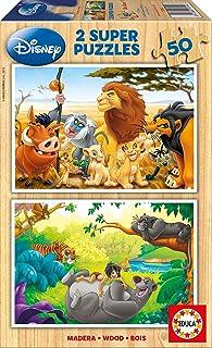 Simba Baloo Puzzle el Libro de la Selva 18103 Educa Borr/ás- Rey Leon Color Variado