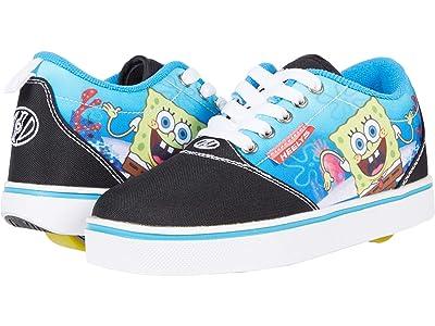 Heelys Pro20Prints Spongebob (Little Kid/Big Kid/Adult) (Black/Multicolor) Boy