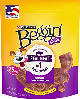 Purina Beggin' Strips Bacon Flavor Dog Treats - (2) 25 oz. Pouches