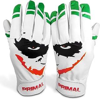 "Primal Baseball ""Smiley Baseball Batting Gloves (Adult Size Large)"