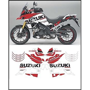 ART555 Adesivi Stickers decals compatibili per moto SUZUKI V-STROM 1000 2014-2015