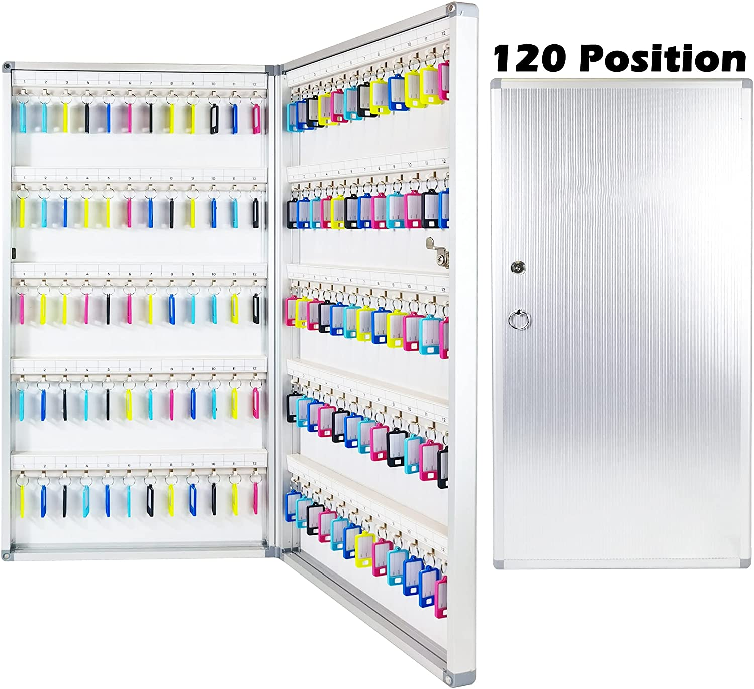 Prolee Max 78% OFF Key Box Wall Mount Max 46% OFF 72 Position 96 wi 120 for