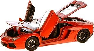 LAMBORGHINI Aventador LP700-4, dark orange, 2011, Model Car,, Motormax 1:18