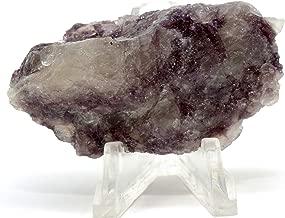 185 Carat Purple Lepidolite Rough Natural Sparkling Crystal Flower Sugilite Mineral Cabochon Litha Mica Gemstone - Brazil