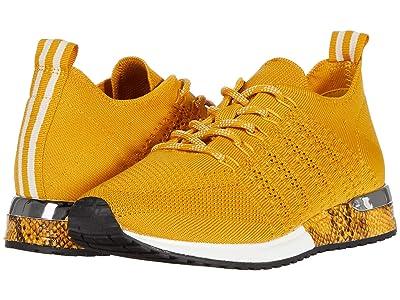 J/Slides Odessa (Yellow Knit) Women