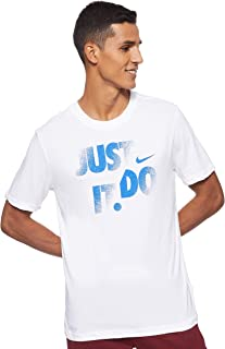 Men's Dri-FIT Cotton Just Do It Graphic Tee