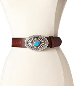 Ariat - Oval Concho Buckle Belt