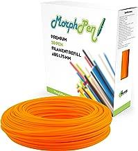 MorphPen ABS Filament 1.75mm Refill for 3D Printing Pen (160ft H-Orange)