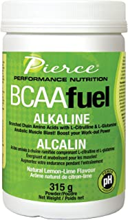 Prairie Naturals PH Balanced BCAA Fuel, Lemon Lime, 11.2 Ounce