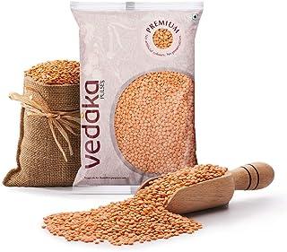 Vedaka Premium Red Masoor Whole, 1kg