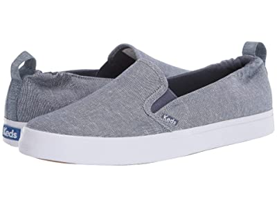 Keds Darcy Slip-On Chambray (Blue) Women