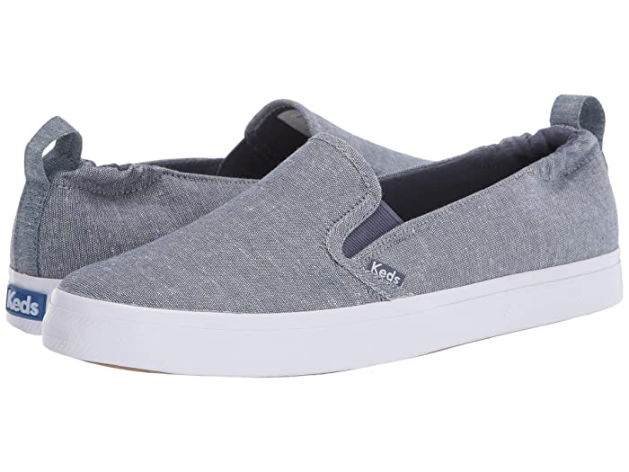Keds  Darcy Slip-On Chambray (Blue) Womens Shoes