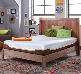 Live and Sleep Elite - Full XL Cooling Gel Memory Foam Mattress in a Box - Bonus Memory Foam Pillow - Certipur Certified Bed in a Box - Full Extra Long Size